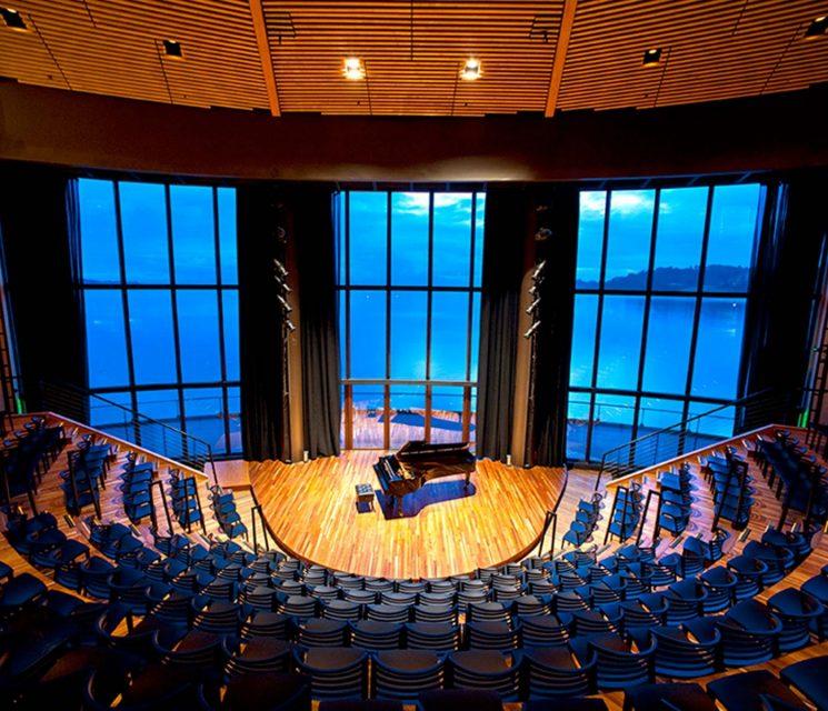 Conoce la arquitectura de Teatro del Lago Galería de fotos 001